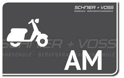 Kleinkrafträder und Leichtkraftfahrzeuge: AM